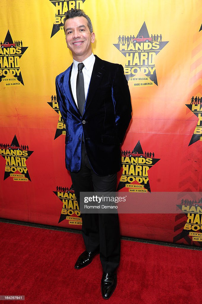 Sergio Trujillo attends the 'Hands On A Hard Body' Broadway Opening Night After Party at Roseland Ballroom on March 21, 2013 in New York City.
