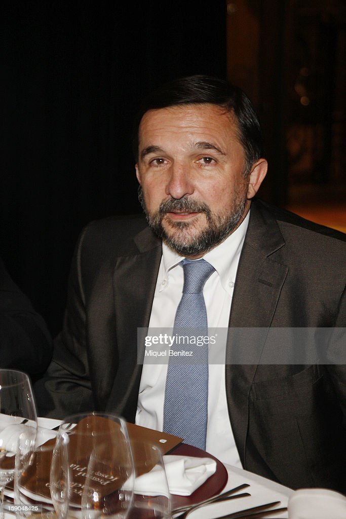Sergio Vilasanjuan attends the 69th Nadal literature award on January 6, 2013 in Barcelona, Spain.
