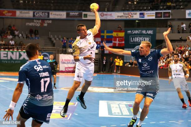 Sergyi Onufriyenko of Aix during Lidl Star Ligue match between Fenix Toulouse and Pays D'aix Universite Club on September 13 2017 in Toulouse France