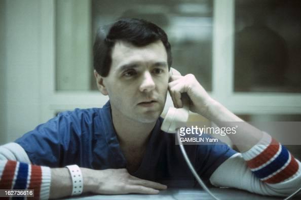 A Serial Killer In Jail Etats Unis Cincinnati Octobre 1987 Donald HARVEY infirmier accusé du meurtre de 58 personnes en 16 ans en prison Il a avoué...