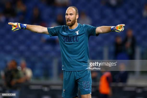 Serie A Lazio v Inter Ivan Vargic of Lazio at Olimpico Stadium in Rome Italy on May 21 2017