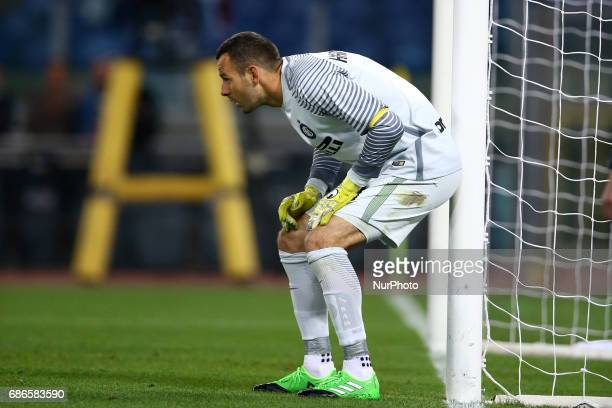 Serie A Lazio v Inter Samir Handanovic of Internazionale at Olimpico Stadium in Rome Italy on May 21 2017
