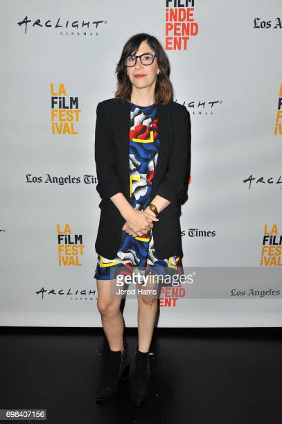 Series creator/actor Carrie Brownstein attends the Portlandia Retrospective during the 2017 Los Angeles Film Festival at Kirk Douglas Theatre on June...
