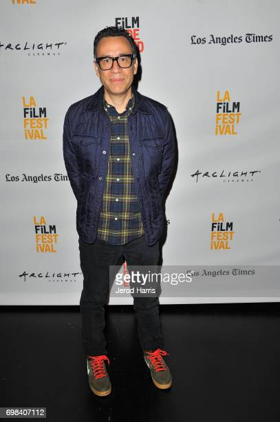 Series creator/actor Fred Armisen attends the Portlandia Retrospective during the 2017 Los Angeles Film Festival at Kirk Douglas Theatre on June 15...