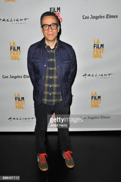 Series creator/actor Fred Armisen attends the Portlandia Retrospective during the 2017 Los Angeles Film Festival at Kirk Douglas Theatre on June 15...