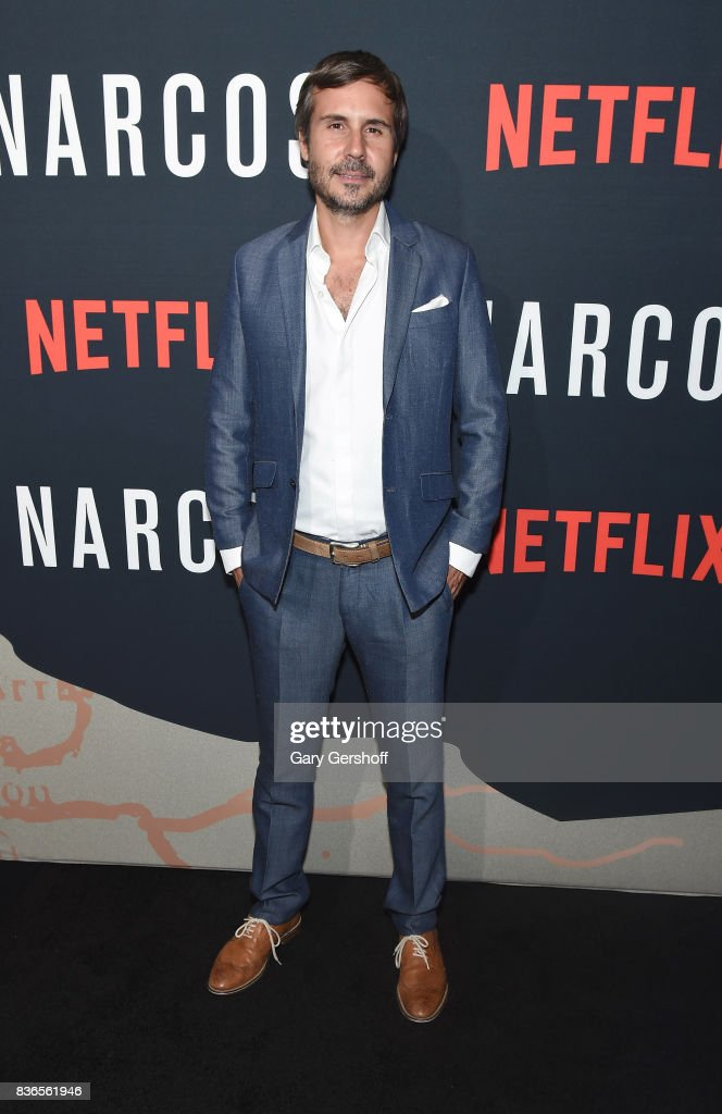 Series director Andres Baiz attends the 'Narcos' Season 3 New York screening at AMC Loews Lincoln Square 13 theater on August 21, 2017 in New York City.