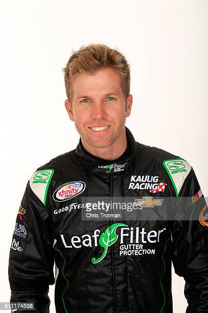 Series driver Blake Koch poses for a photo at Daytona International Speedway on February 18 2016 in Daytona Beach Florida