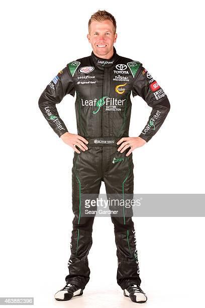 Series driver Blake Koch poses for a portrait at Daytona International Speedway on February 19 2015 in Daytona Beach Florida