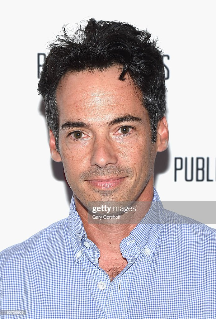 Series executive producer Aaron Lubin attends the 'Public Morals' New York Screening at Tribeca Grand Screening Room on August 12, 2015 in New York City.