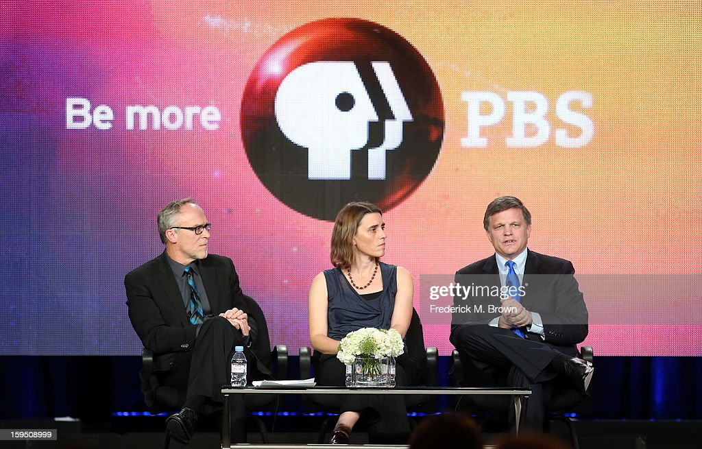 Series Executive Producer Mark Samels, writer/producer/director Sarah Colt and Professor of History at Rice University Douglas Brinkley of 'AMERICAN
