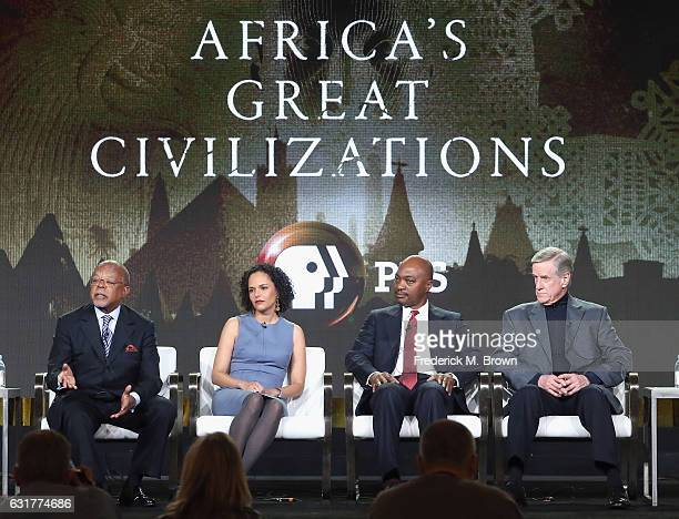 Series host and executive producer Henry Louis Gates Jr assistant professor of art history University of Chicago Cecile Fromont professor of history...
