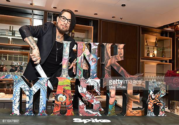Series Host Dave Navarro attends Spike's Ink Master100th episode party at NeueHouse Hollywood on September 28 2016 in Los Angeles California