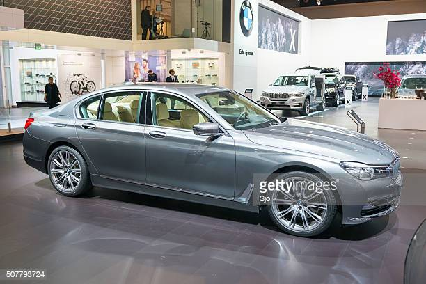 BMW 7 series luxury limousine car