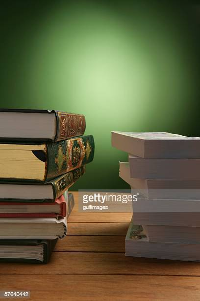 Series of Books and Bundle of Money