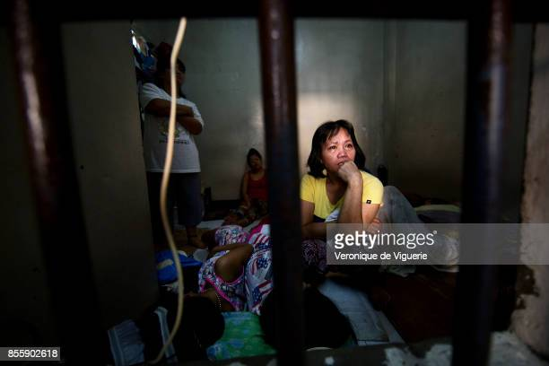 Serila motheroffour is in this cell since one month Her husband is a baranguay and ashamed of her does not visit neither allow their children to come...