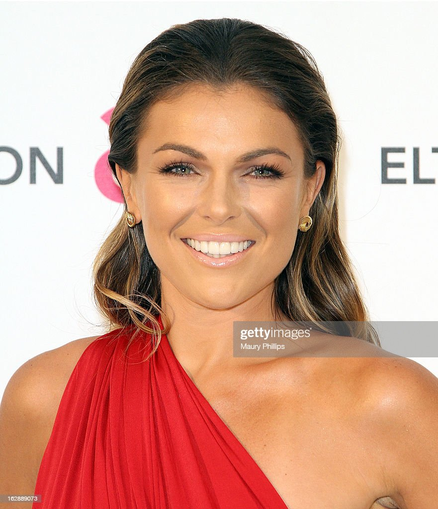 Serinda Swan arrives at the 21st Annual Elton John AIDS Foundation Academy Awards Viewing Party at Pacific Design Center on February 24, 2013 in West Hollywood, California.