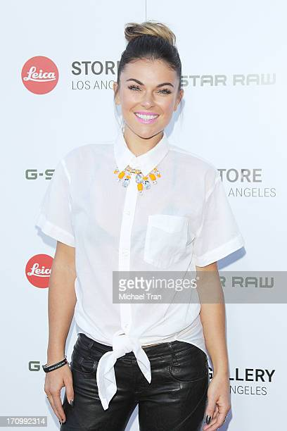 Serinda Swan arrives at the grand opening of the Leica Store Los Angeles held on June 20 2013 in Los Angeles California