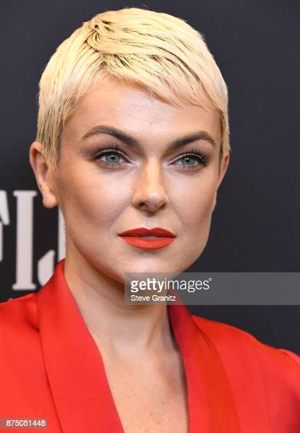 Serinda Swan arrives at the Hollywood Foreign Press Association And InStyle Celebrate The 75th Anniversary Of The Golden Globe Awards at Catch LA on...