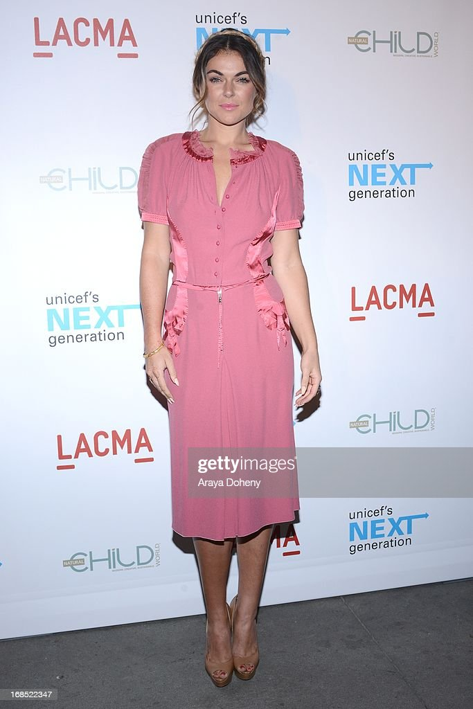 Serinda Swan attends the UNICEF NextGen Los Angeles launch at LACMA on May 9, 2013 in Los Angeles, California.