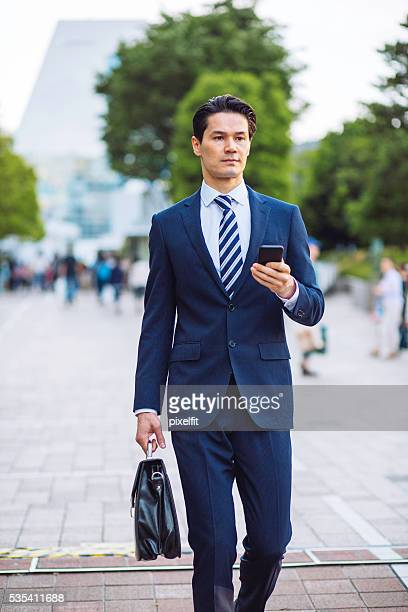 な実業家 アジア民族 (東洋人)