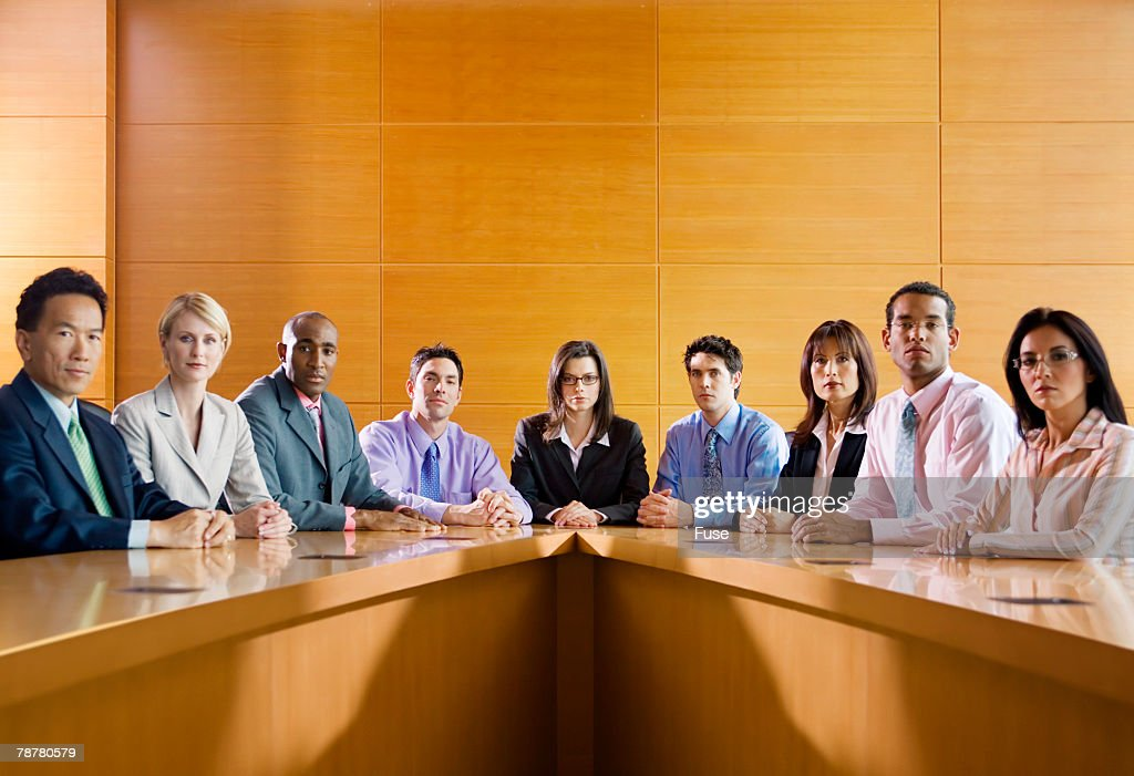 Serious Business Meeting : Stock Photo