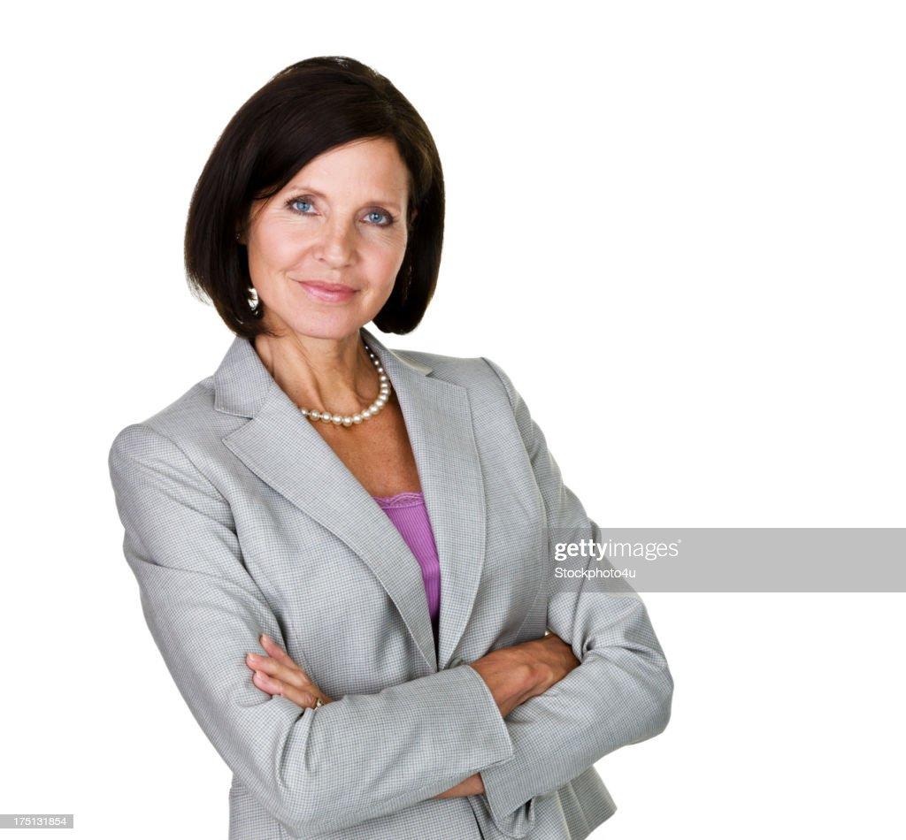 Serious businesswoman : Stock Photo