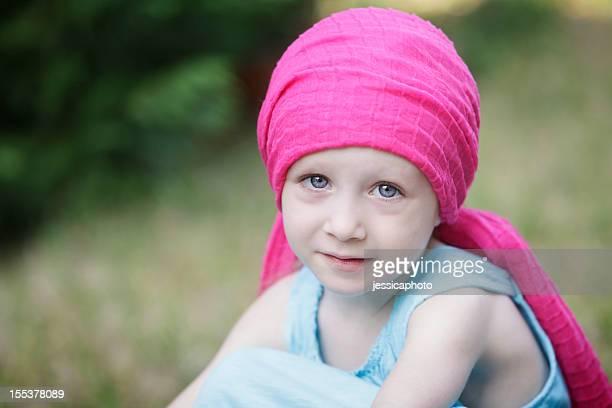 Serious Chemo Child