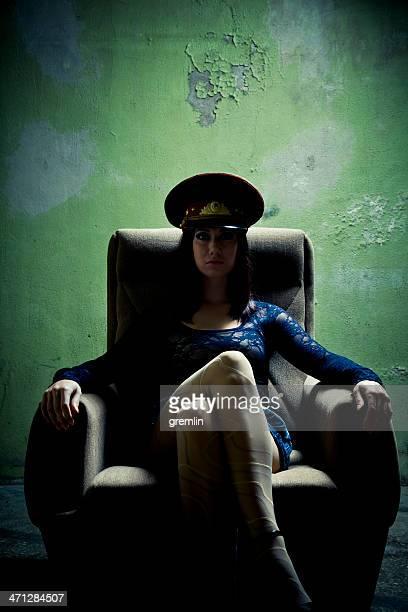 Serious fantasy Interrogation Officer