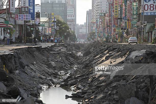 A serious gas explosion caused by gas leaks occurred in the second largest city of Taiwan Kaohsiung This disaster led to the deaths of 32 people More...