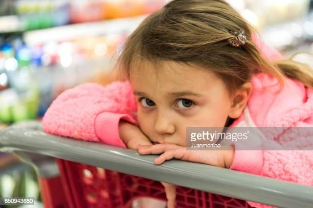 Serious girl looking at the camera