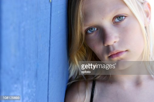 serious girl : Stock Photo