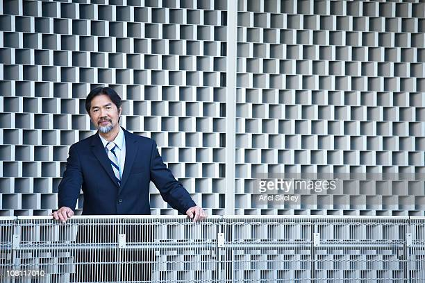 本格的な日本の実業家に立つ;落下防止柵