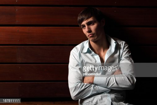 Serious Man : Stock Photo