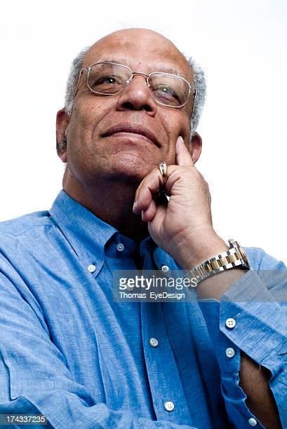 Sérieux homme Senior