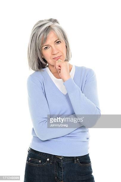 Mujer mayor graves