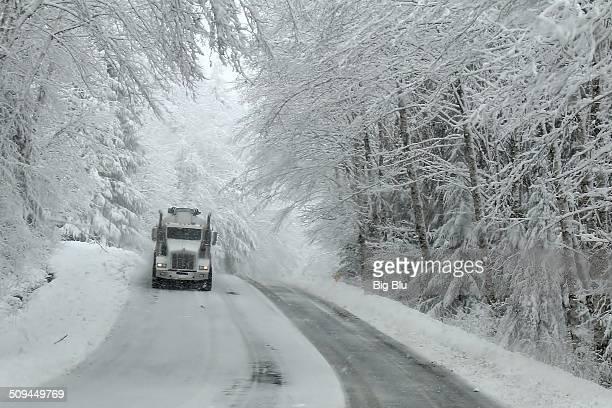 Serious winter trucking