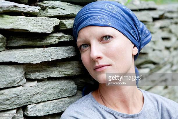 Ernst Frau mit Brustkrebs