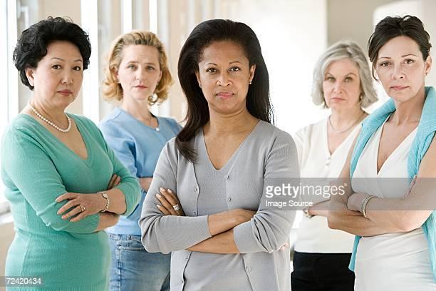 Serious women
