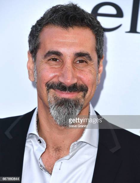 Serj Tankian arrives at the Premiere Of Open Road Films' 'The Promise' at TCL Chinese Theatre on April 12 2017 in Hollywood California