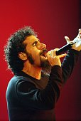 Serj Tankian of System of a Down during MTV Video Music Awards Latinoamerica 2002 Show at Jackie Gleason Theater in Miami FL United States