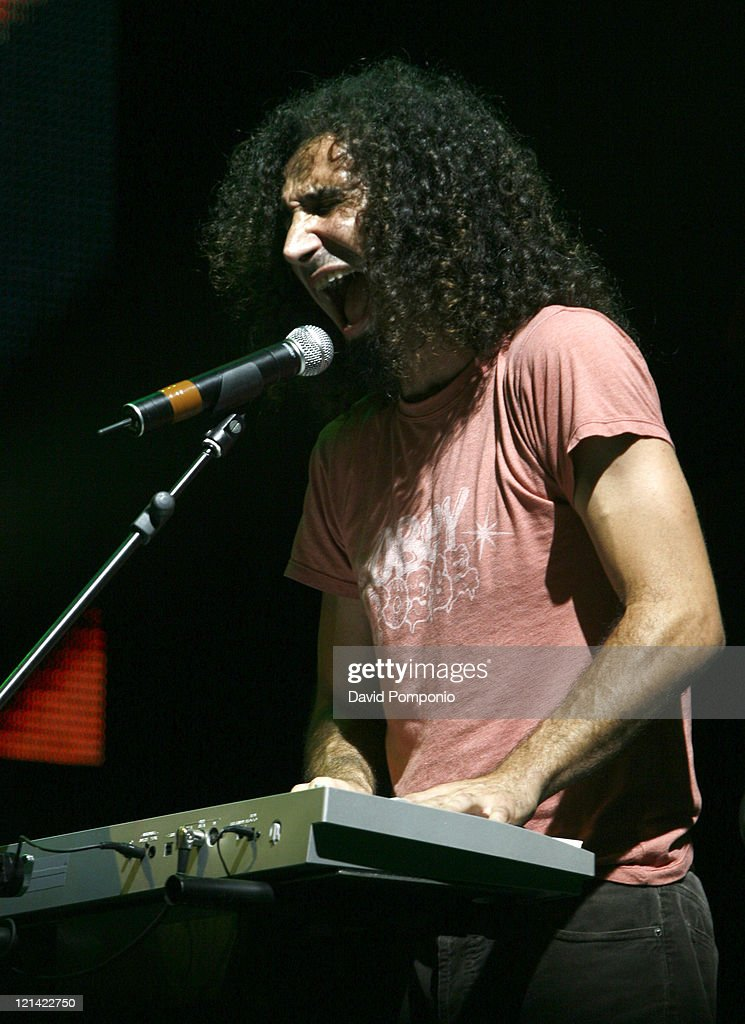Serj Tankian of System Of A Down during Ozzfest 2006 July 29 2006 at Randall's Island in New York City New York United States