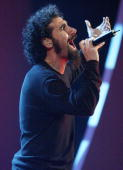 Serj Tankian of System of a Down performs at the MTV Video Music Awards Latinoamerica 2002