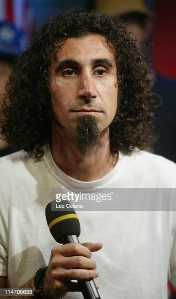 Serj Tankian of System of Down during Fuse Studios Presents the 'Daily Download' Show from the Republican National Convention August 30 2004 at Fuse...