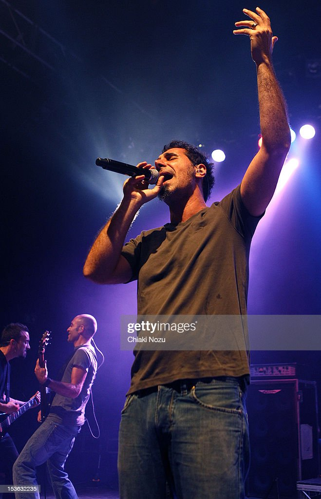 Serj Tankian performs at O2 Shepherd's Bush Empire on October 7, 2012 in London, England.