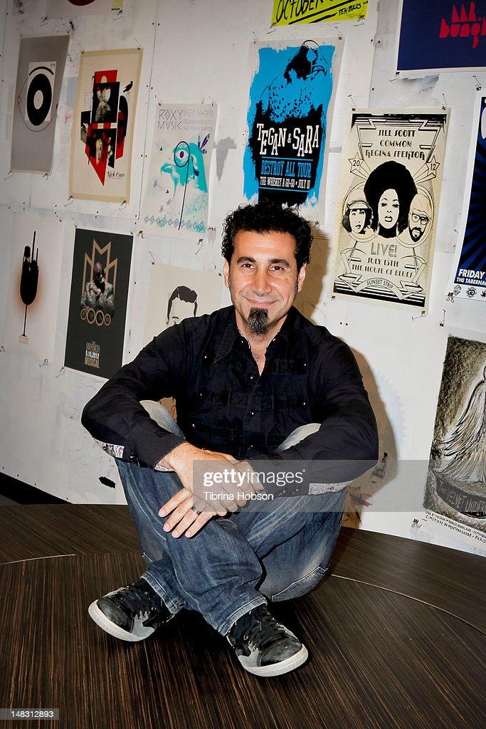 Serj Tankian Performs At Warner Bros. Records' Summer Sessions