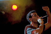 Serj Tankian performs on stage at Manchester Academy on October 8 2012 in Manchester United Kingdom