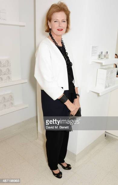 Serpentine Gallery CoDirector Julia PeytonJones attends the launch of 'Serpentine' a new fragrance by The Serpentine Gallery and fashion house Comme...
