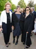 Serpentine Gallery CoDirector Julia PeytonJones Tracey Emin and Bianca Jagger attend the launch of 'Serpentine' a new fragrance by The Serpentine...