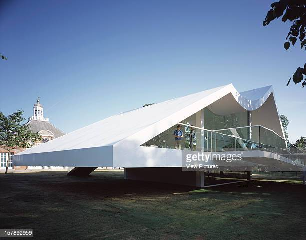 Serpentine Gallery Summer Pavilion 2003 London United Kingdom Architect Oscar Niemeyer Serpentine Gallery Pavilion Pavilion With Serpentine Gallery...