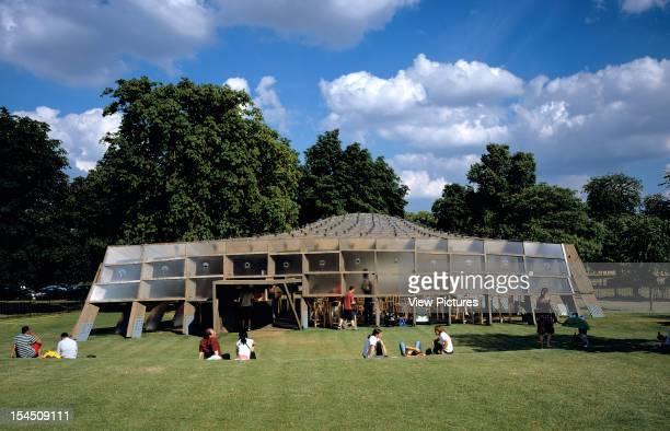 Serpentine Gallery Summer Pavilion 2005 London United Kingdom Architect Alvaro Siza/ Eduardo Souto De Moura/ Cecil Balmond Arup Serpentine Gallery...